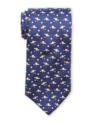 Pierre Cardin | Blue Hot Air Balloon Silk Tie for Men | Lyst