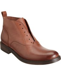 Sartore - Brown Laceless Ankle Boot - Lyst