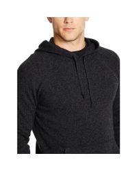 Polo Ralph Lauren   Black Cotton Jacquard Pullover Hoodie for Men   Lyst