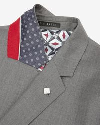 Ted Baker - Gray Wool Blazer for Men - Lyst