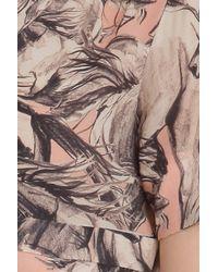Paul & Joe - Pink Sleeping Horse Print Ss Drs - Lyst