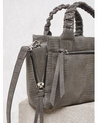 Free People | Gray Brooklyn Backroads Crossbody | Lyst