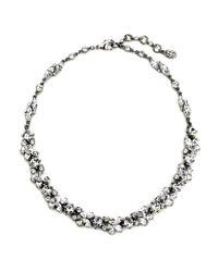Ben-Amun | Metallic Simple Crystal Vine Necklace | Lyst