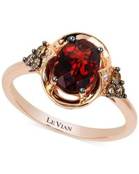 Le Vian - Green Chrome Diopside (1-1/3 Ct. T.w.) And Diamond (1/6 Ct. T.w.) Ring In 14k Gold - Lyst