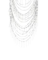 BCBGMAXAZRIA | Metallic Boho Fringe Necklace | Lyst