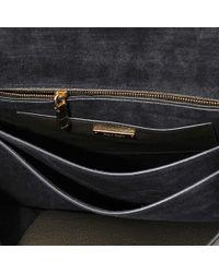 Miu Miu - Black Madras Top Handle Bag - Lyst