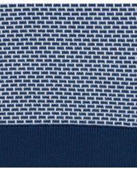 John Smedley - Blue Navy Mcro Brick Front Polo for Men - Lyst