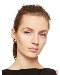 Kate Spade | Black Dainty Sparklers Ear Jacket | Lyst