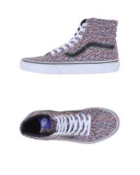 Vans - Blue High-tops & Trainers - Lyst