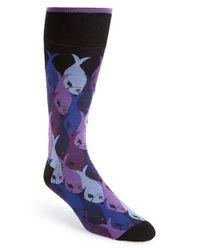 Di Pedarius | Black 'up In The Air' Socks for Men | Lyst