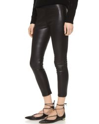 ThePerfext - Black Broadway Leather Pants - Lyst
