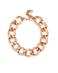 BaubleBar | Metallic 'jumbo' Curb Link Necklace | Lyst