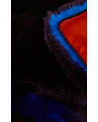 Karen Millen | Purple Faux-fur Scarf | Lyst