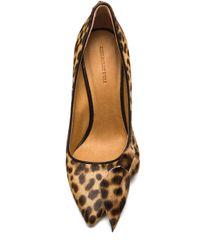 Isabel Marant | Animal Poppy Cow Hair Heels | Lyst