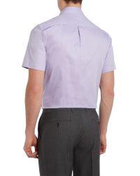 Howick - Purple Bannon Short Sleeve Shirt for Men - Lyst