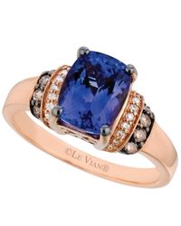 Le Vian | Pink Tanzanite (2 Ct. T.w.) And Diamond (1/5 Ct. T.w.) Ring In 14k Rose Gold | Lyst