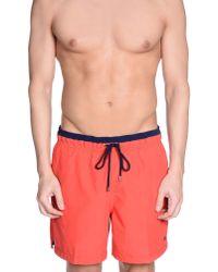 Pedro Del Hierro Madrid - Red Swimming Trunk for Men - Lyst