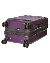 """Delsey   Purple Helium Shadow 3.0-19"""" International Carry-on Expandable Spinner Suiter Trolley   Lyst"""