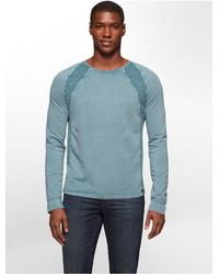 Calvin Klein | Blue Jeans Slim Fit Acid Wash Shirt for Men | Lyst