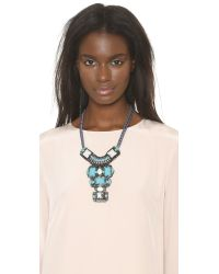Nocturne - Blue Jamilla Necklace - Mint Multi - Lyst