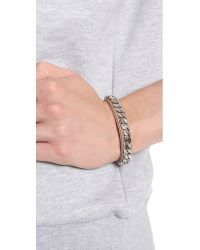 Vita Fede - Metallic Monaco Single Bracelet - Lyst