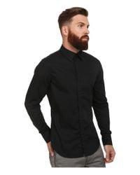 G-Star RAW | Black Core Long Sleeve Shirt for Men | Lyst