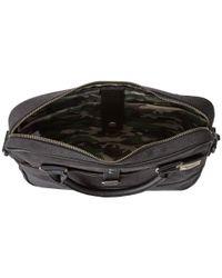 Steve Madden - Black Canvas Computer Bag for Men - Lyst