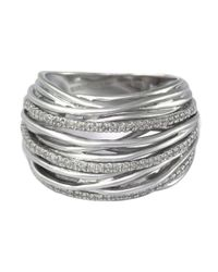 Lord & Taylor | Metallic Balissima Diamond And Sterling Silver Ring | Lyst