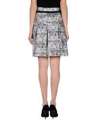 Paule Ka - Natural Knee Length Skirt - Lyst
