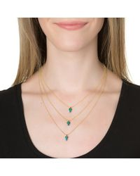 Lionette | Avish Necklace Blue | Lyst