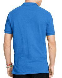 Polo Ralph Lauren | Blue Mesh Polo for Men | Lyst