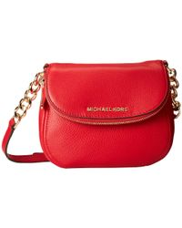 MICHAEL Michael Kors - Red Bedford Flap Crossbody - Lyst