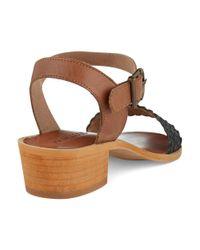 Matisse | Black Hayes Sandals | Lyst