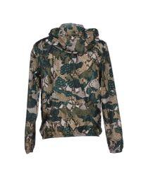 MSGM - Green Jacket for Men - Lyst