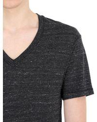 Alternative Apparel | Black Eco-jersey V-neck T-shirt | Lyst