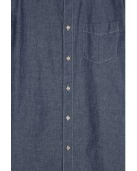 Rag & Bone - Blue Chambray Shirt for Men - Lyst