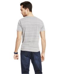 Vince Camuto | Gray Marled T Shirt for Men | Lyst