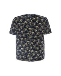 Mother Of Pearl - Black Paget Silk Woven Tee - Lyst