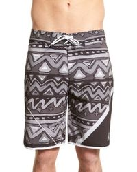 Quiksilver | Black 'ag47 New Wave' Board Shorts for Men | Lyst