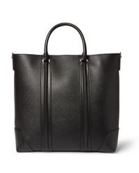 Givenchy - Black L.C. Textured-Leather Tote Bag for Men - Lyst
