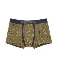 DIESEL - Green Divine Printed Boxers for Men - Lyst