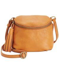 Lucky Brand | Brown Harper Mini Crossbody | Lyst