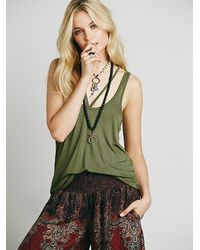 Free People | Green We The Free Maui Tank | Lyst