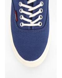 Vans - Blue Authentic Slim Pop Low-Top Women'S Sneaker - Lyst