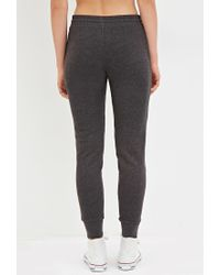 Forever 21 | Gray Drawstring Joggers | Lyst