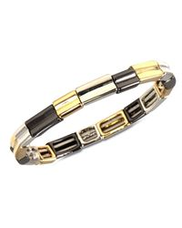 Nine West | Multicolor Multi-tone Stretch Bracelet | Lyst