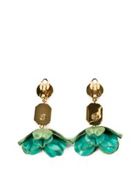 Tory Burch | Green Earrings | Lyst