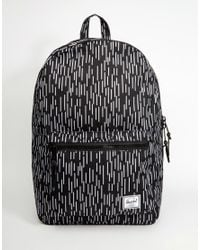 Herschel Supply Co. | Black Settlement Backpack 23l for Men | Lyst