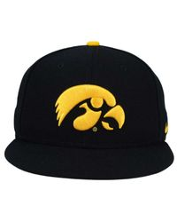 Lyst - Nike Iowa Hawkeyes True Hardwood Seasonal Cap in Black for Men 3270ca29c7ba