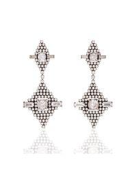 DANNIJO | Metallic Faith Earrings | Lyst